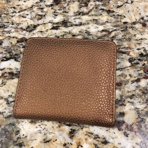 Buxton Mini Wallet Copper Vegan